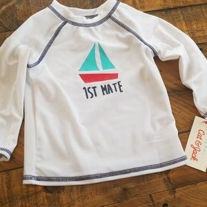 Rashguard Infants Long Sleeve Swim shirt